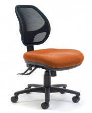 Delta Mesh Back. Option Ergo 2 Or 3 Lever Action. Fabric Seat Any Colour. Adjust Arms Optional Extra