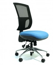 Wave Mesh Back. Heavy Duty. Option Ergo 2 Or 3 Lever. 135Kg. Fab Seat Any Colour. Chrome Extra