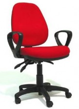 Norse HB NS36A14. Loop Moulded Arms. Ergo 3 Lever, Gas Lift, Back Angle, Seat Tilt Adjust. Any Colour