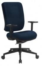 Rexa Exec Extra HB Manual. Synchron Mech. Height Adjust Arms. 120Kg. Any Fabric Colour