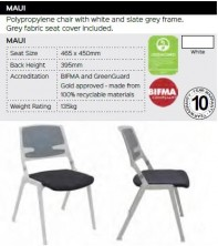 Maui Chair Range And Specifications