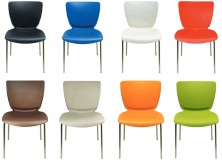 Cello Visitor Chairs. Also Other Colours Available Ivory And Dove Grey