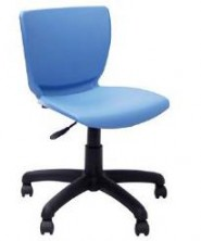 Cello Chair On Gas Swivel Castor Base. 10 Colours Available