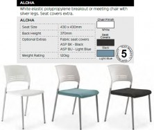 Aloha Chair Range And Specifications