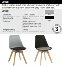 Virgo Chair Range And Specifications