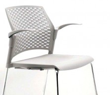 Rewind 4 Leg Chair With Wing Arm Rests