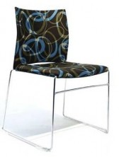 WEB Visitor Chair. Fully Upholstered. Any Fabric Colour