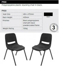 P100 Chair Range And Specifications