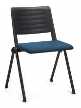 Reload 4 Leg Visitor Chair. Fabric Seat And Back Pads. Any Fabric Colour