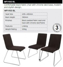 WFV100 BL Visitor Chair Range And Specifications