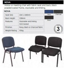 Nova Visitor Chair Range And Specifications