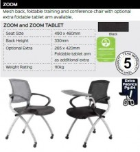 Zoom Chair Range And Specifications