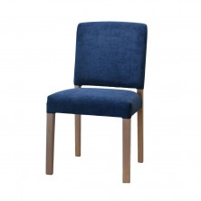 Baltimore Side Chair C691. Clear Natural Or Stain. Any Fabric