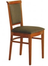 Rosa Side Chair C340. Stained Timber. Any Fabric Colour