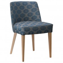 Daisy Side Chair C674. Clear Natural Or Stain. Any Fabric