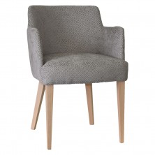 Daisy Arm Chair C677. Clear Natural Or Stain. Any Fabric