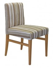 Victoria Low Straight Back Chair SS05 SLB