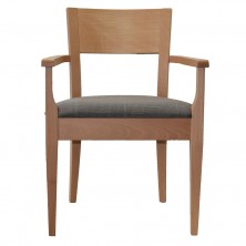 Madiera Arm Chair C615. Clear Natural Or Stain. Any Fabric