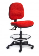 Alpha Logic Drafting Chair. 2 Lever Or 3 Lever. Any Fabric Colour
