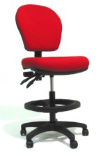 Lynx Drafting Chair. 2 Lever Or 3 Lever. Any Fabric Colour