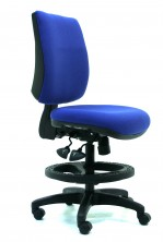 Ecco  Drafting Chair. 2 Lever Or 3 Lever. Any Fabric Colour
