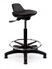 Lab 200 Chair. Gas Lift, Seat Adjust, Footring