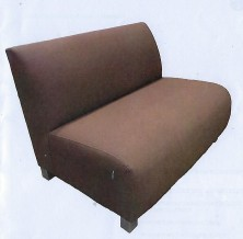 Design Lounge. No Arms. Available Single, 2 Seater, 3 Seater. Any Fabric Colour