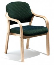 Oria Split Back Flat Arm Waiting Room Chair. Any Fabric Colour