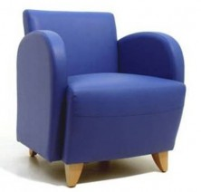 Hamilton Single With Arms. Timber Legs. Any Fabric Colour. 2 Seater Available