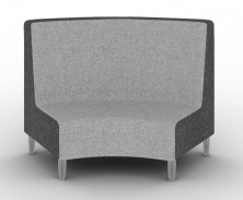 Quiet Round Reception Seating. Available High Back And Low Back. Any Fabric Colour