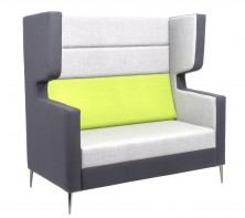 Wing Quiet Lounge. 2 Seater Available 3 Seater. Any Fabric Colour