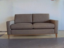 Vincent 2 Seater Lounge. Timber Legs. Any Fabric Colour