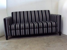 Lindsay 2 Seater Lounge. Timber Feet. Any Fabric Colour