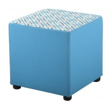 Stay Cube Ottoman. 450 X 450 X 450 H. Any Fabric Colour
