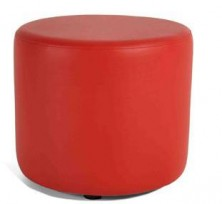 Sturdy Round Ottoman 450 Dia X 450 H. Any Fabric Colour