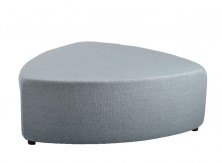 Pebble Ottoman. 1200 Dia X 450 H. Any Fabric Colour. Also 900 Dia Available