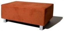 Sturdy Ottoman. Any Fabric Colour. 420 H. 3 Sizes: 500 X 500 Or 1000 X 500 Or 1500 X 500