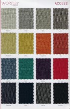 Range 1   Wortley Access Fabric Colours