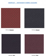 Range 2   Wortley Hathaway Fabric Colours