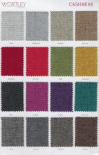 Range 2   Wortley Cashmere Fabric Colours