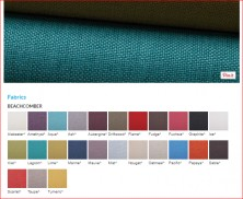 Range 2   Warwick Beachcomer Fabric Colours