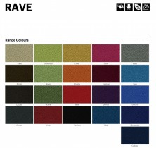 Range 4   Laines Rave Fabric Colours