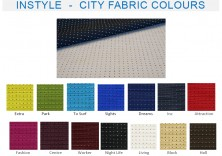 Range 4   Instyle City Fabric Colours