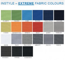 Range 4   Instyle Extreme Fabric Colours