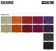 Range 7   Laines Desire Fabric Colours