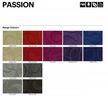 Range 7   Laines Passion Fabric Colours