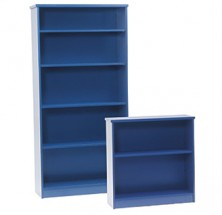 Ecotech Melamine Freestanding Bookcase Units. Various Sizes. MM1 And MM2 Melamine Colours