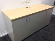 Axis 18 Credenza With 4 Hinged Doors 1800 L X 600 D X 900 H