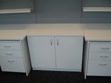 Shows 900 L X 450 W X 725 H 2 Hinged Door Credenza