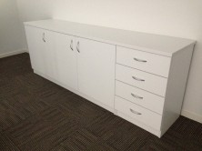 Special Credenza With 3 Hinged Doors And 1 Bank Of 4 Drawers 1800 L X 600 W X 725 H